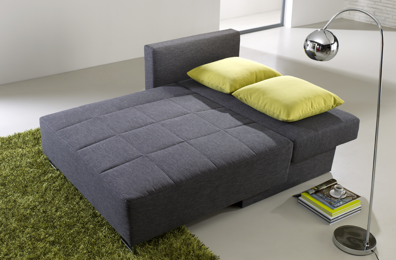 <strong>Schlafsofa Heaven</strong><br>in Klappfunktion
